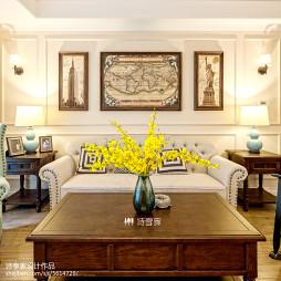 家装混搭风格客厅设计图片