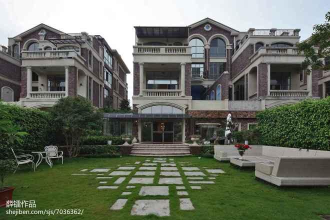新古典风格别墅花园装修