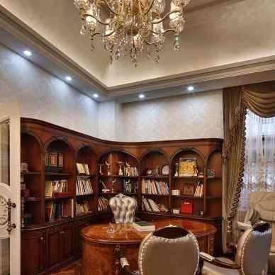 新古典风格书房设计案例