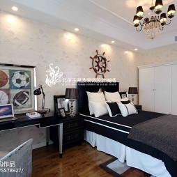 混搭风格家居卧室布置