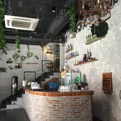 火锅餐厅收银台效果图