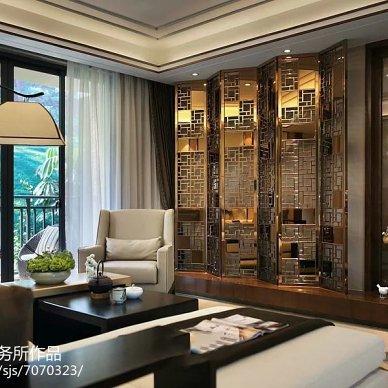 新中式105平米 重庆样板房_2403000