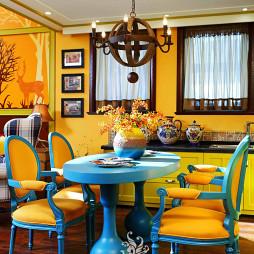 混搭风格餐厅样板间设计