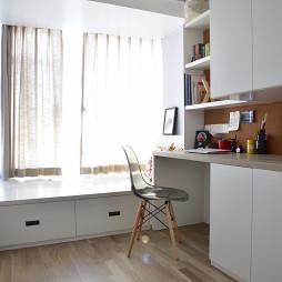 家装北欧风格书房装饰图