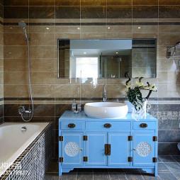 中式风格样板间卫浴设计