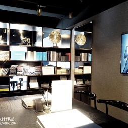 北京优山服装店书架设计