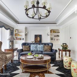 家装美式风格客厅设计案例