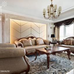 家裝歐式風格客廳裝飾圖