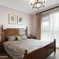 193㎡乡村美式卧室装修