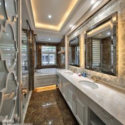 欧式时尚家居卫浴设计图