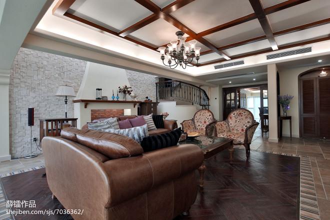 家装田园格调客厅设计