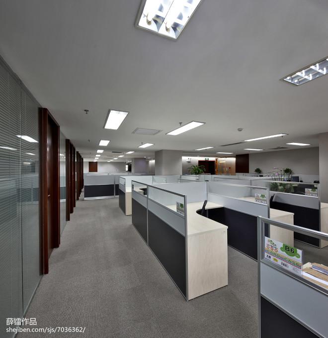 中合银金融控股办公区域设计