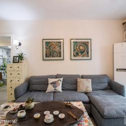 家装简约风格客厅效果图片