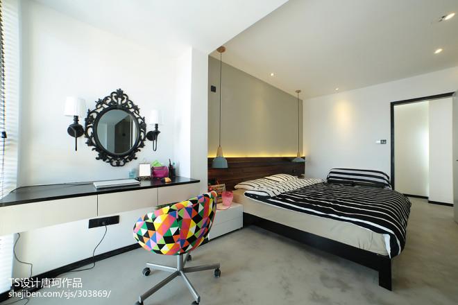 LOFT风格家居卧室设计效果图