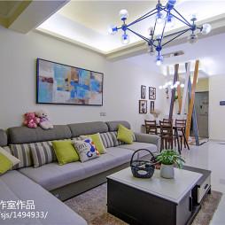 家装现代风格客厅设计效果图
