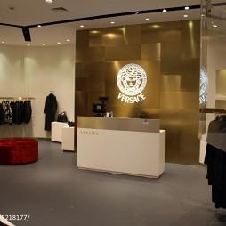 奢侈品店收银台效果图
