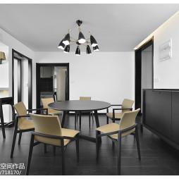 现代风格复式餐厅设计