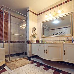 时尚美式风格卫浴设计图片