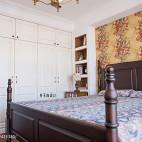 美式格调卧室设计效果图