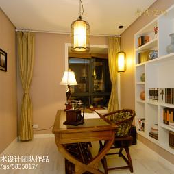 家装日式风格书房装修图