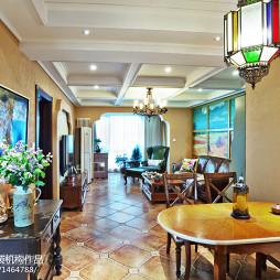 家装东南亚风格吊顶设计