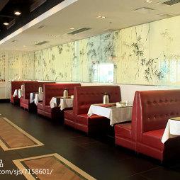 福顺天天中餐厅就餐区效果图