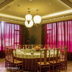 工装中餐厅吊顶设计