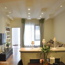 温馨现代风格客厅设计