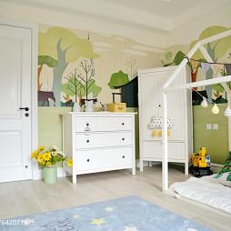 家装简欧风格儿童房效果图