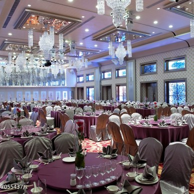 工装奢华婚宴会馆设计