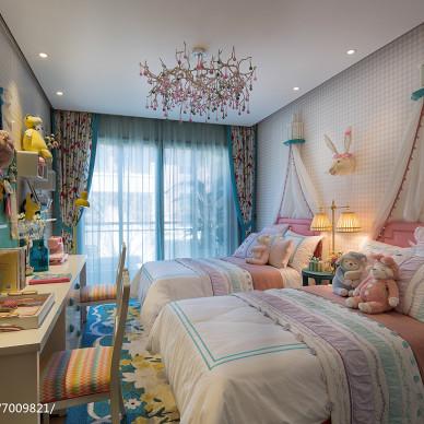 清新中式风格儿童房设计