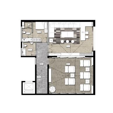林淏森:山水文园住宅-GDA观在设计_2423733