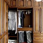 经典美式风格衣柜装修