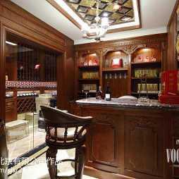 家装新古典风格别墅吧台设计