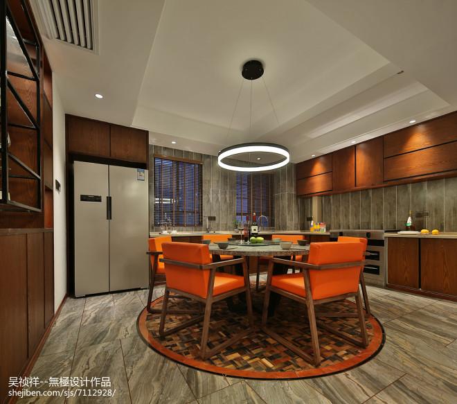 简约风格三居室餐厅设计