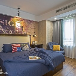 LOFT风格卧室布置