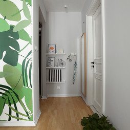 家居北欧风格过道设计