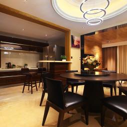 家装现代风格复式餐厅设计