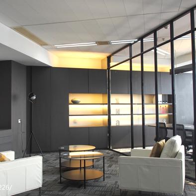 财富金融中心办公楼室内装修