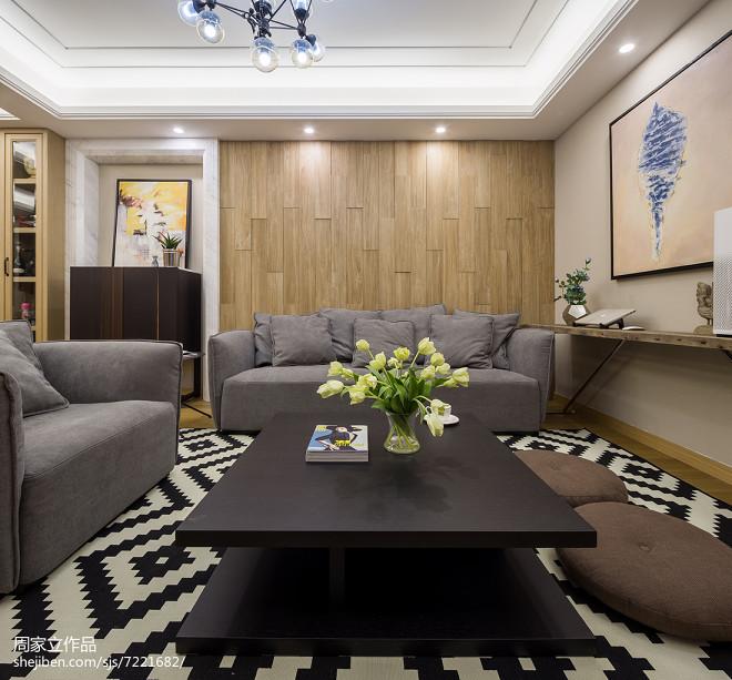 家装现代风韵味客厅设计