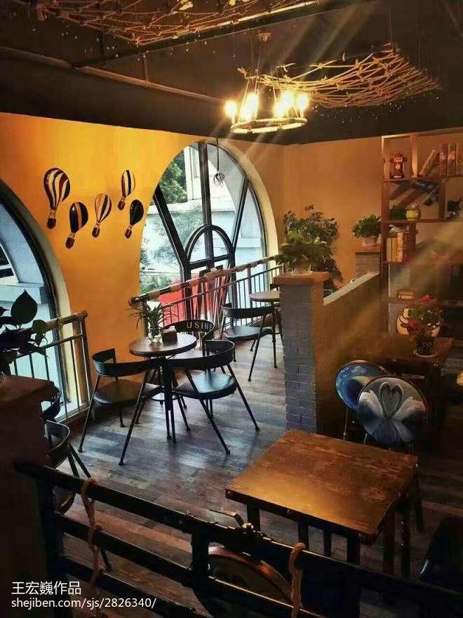 工业风咖啡西餐厅