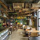 工业风R&C咖啡店设计