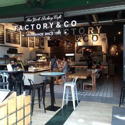 时尚咖啡厅入口设计