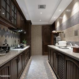 经典美式风格厨房设计