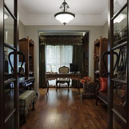 家装美式风格书房设计