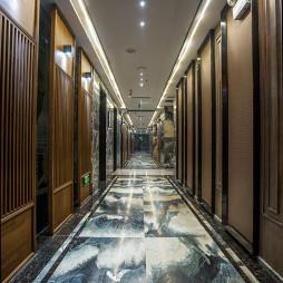 戏剧主题中式餐厅过道设计