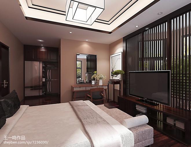 中式卧室_2433967
