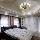 豪华欧式风格别墅卧室效果图