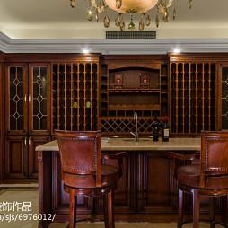 家装新古典风格吧台设计