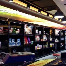 网咖店商品展示区设计
